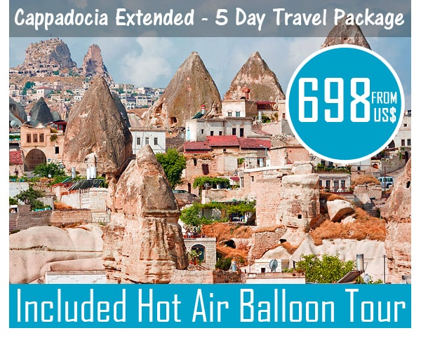 Cappadocia Travel Package Included Hot Air Balloon Tour