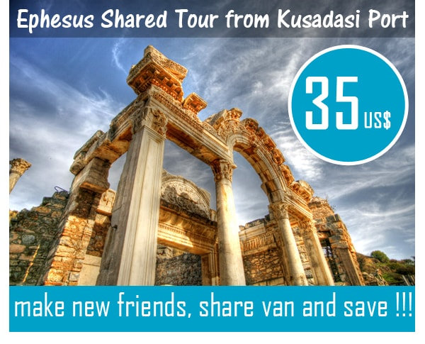 Ephesus Shared Tour from Kusadasi Port